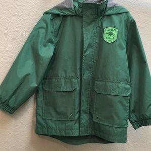 Kids Carter's Dino Raincoat M/5-6 - Like New